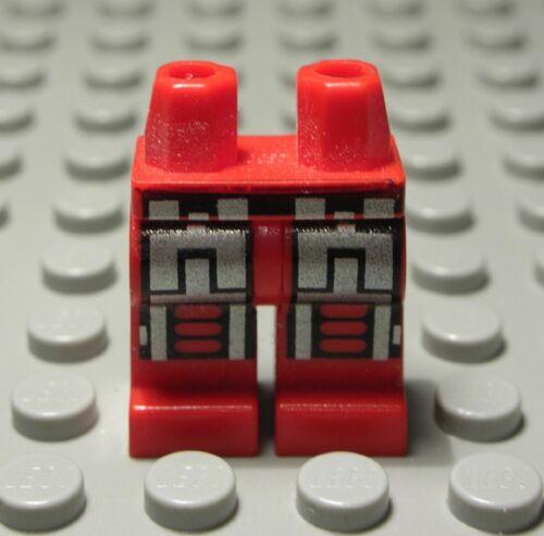 2500 H Lego Figur Zubehör Beine Hose Rot mit Dekor