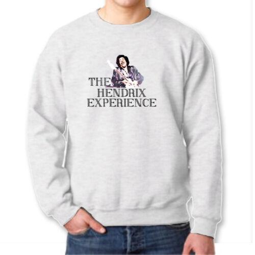 The Hendrix Experience Classic Jimi Rock n Roll T-shirt Concert Crew Sweatshirt