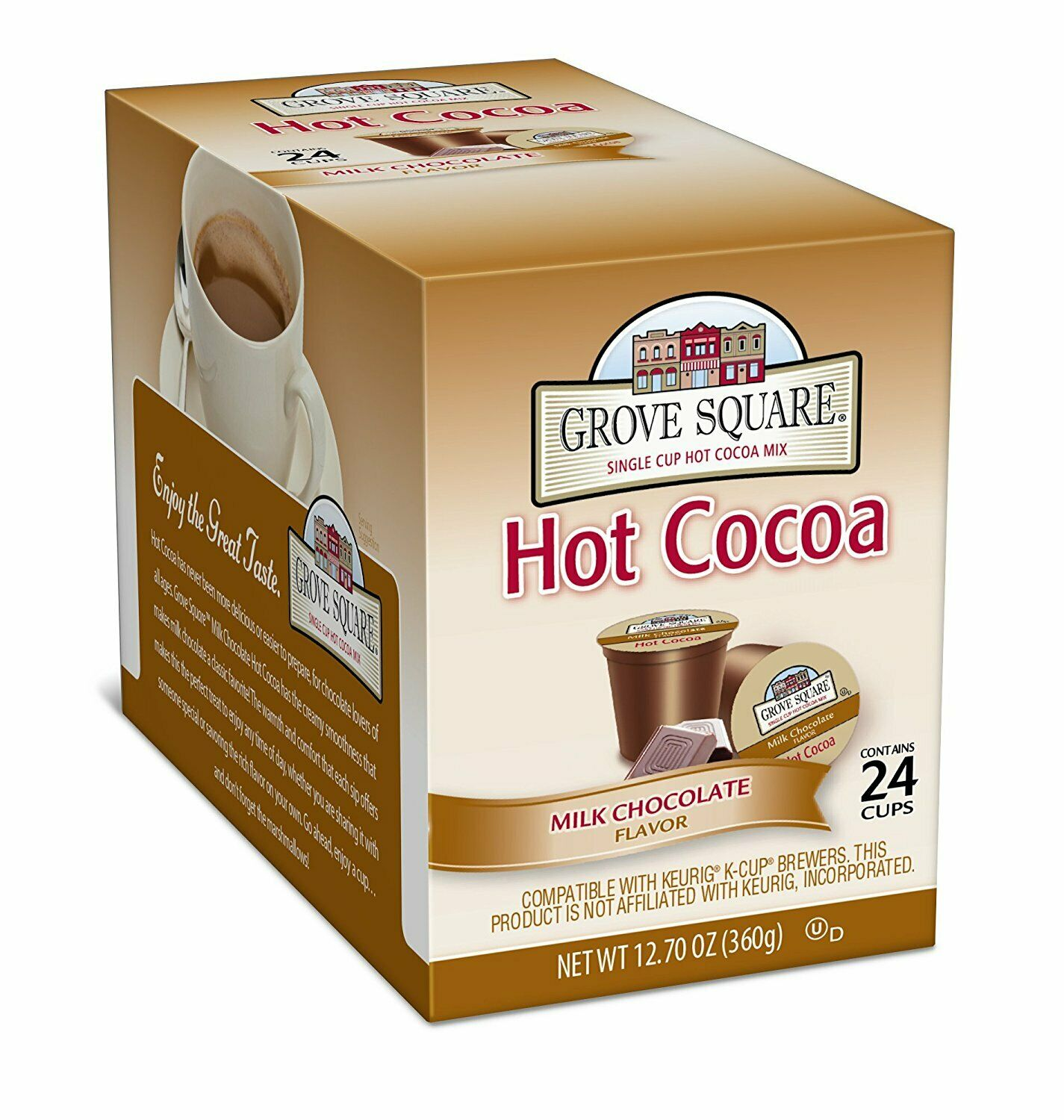 Grove Square Hot Cocoa Milk Chocolate