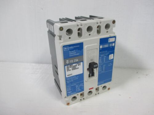 Cutler Hammer FD3225 225A 3 Pole 600VAC Circuit Breaker