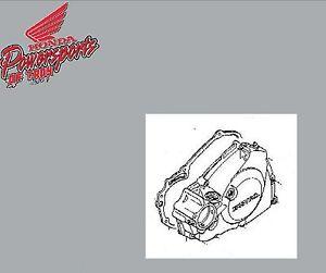 GENUINE-HONDA-OEM-2009-CRF450R-LEFT-CRANKCASE-COVER-W-GASKET