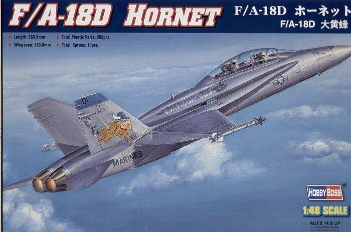 Hobby - boss 1   48 f   a-18d hornet   80322