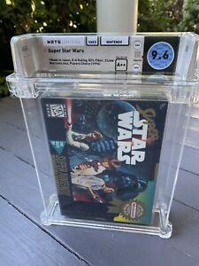 Super Star Wars SNES 💎 9.6 A++ 💎 1996 Players Choice w Deep Badge