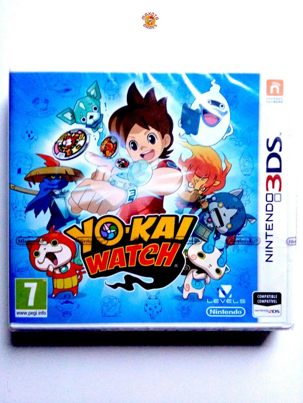 Yo-Kai Watch Nintendo Sealed Nintendo N3DS 3DS Brand New Precintado PAL/SPA