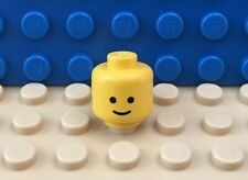 Baukästen & Konstruktion GOOD LEGO 3626AP01 YELLOW 1 X 1 MINIFIGURE HEAD WITH STANDARD GRIN SOLID STUD