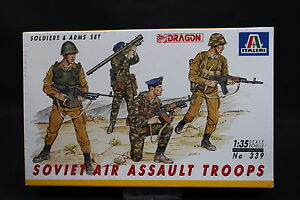 XY016 ITALERI 1/35 maquette figurine 339 Soviet Air Assault Troops