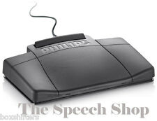 Philips LFH2330/00 Foot Control 4 Pedal, Digital, USB, Dictation/ Stenography