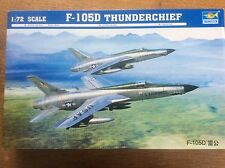 Model Kit Trumpeter Fighter Plane 1/72 01617 F-105D Thunderchief Military