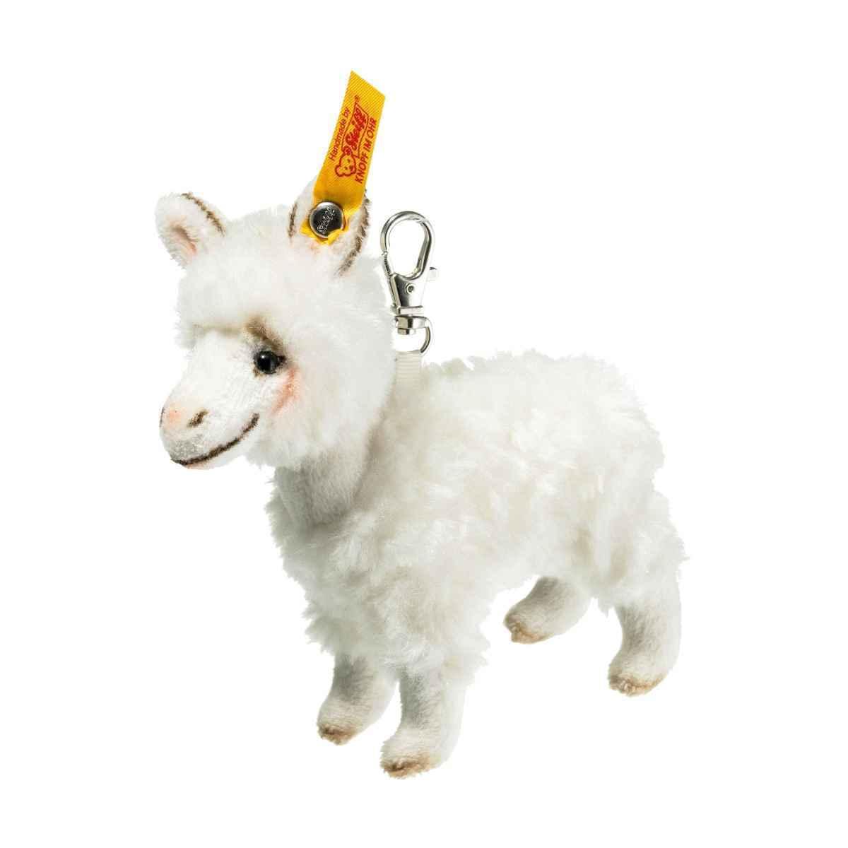 Steiff Keyring Llama Pendant  EAN 112454 Brand New Gift Present Handbag Charm
