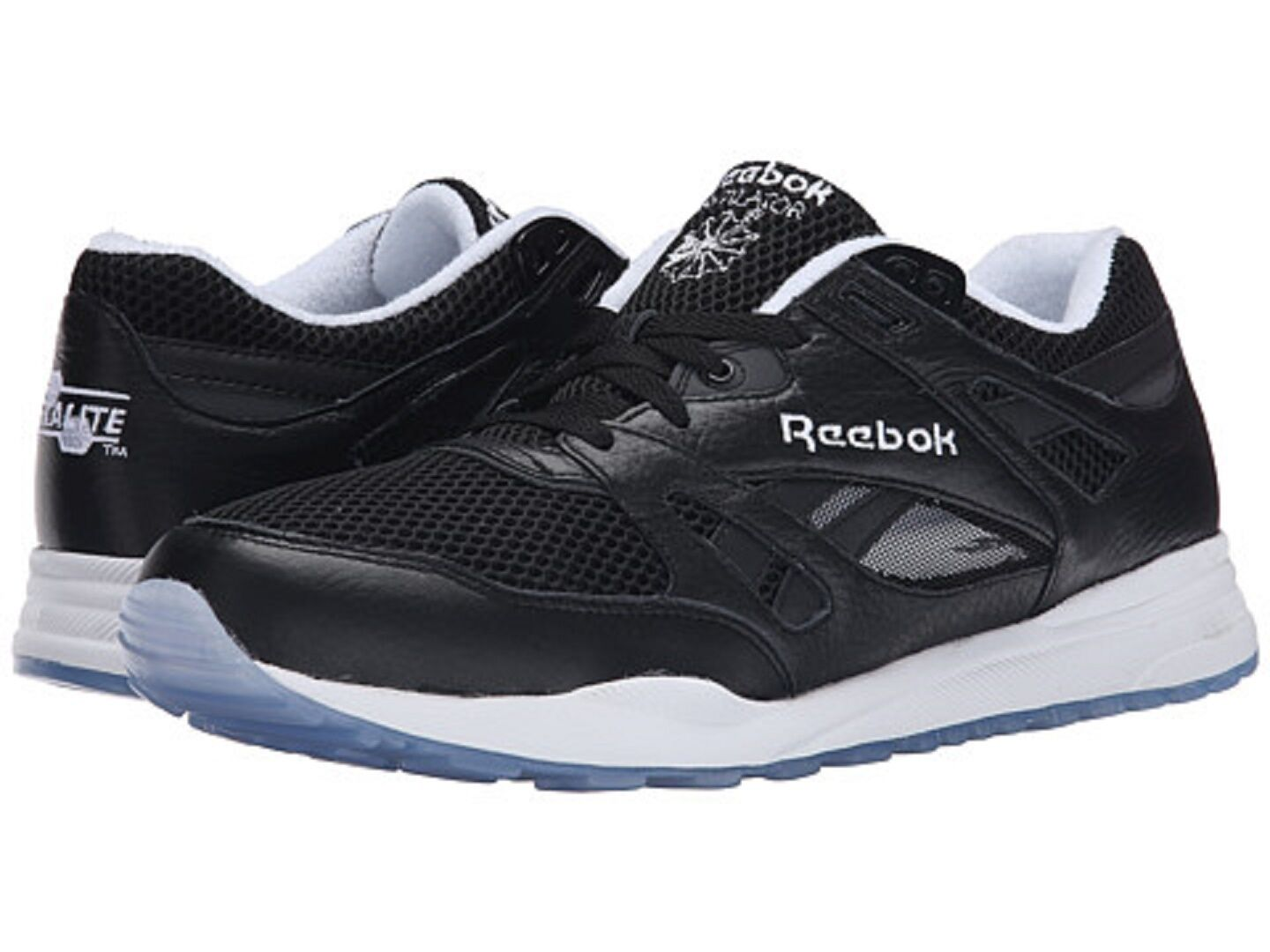 REEBOK M49040 VENTILATOR ICE Mn's (M) Black/White Mesh/Leather Athletic Shoes