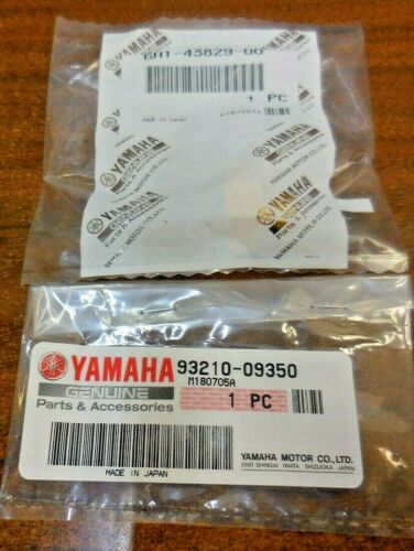 Yamaha 6H1-43829-00-00 93210-09350-00 TRIM RESERVOIR PLUG WITH O-RING