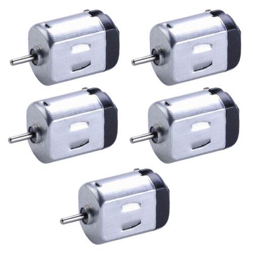 5x Miniatur Motor Rüttelmotor Kleiner Elektromotor für DIY Auto Modellbau