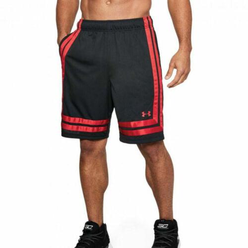 Under Armour UA HeatGear Mens Baseline 10 Inch Black Basketball Shorts