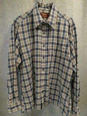 1980/'s Shirt Plaid Vintage Vintage 80/'s Plaid Button-up Shirt 80/'s Shirt Plaid Shirt Vintage Clothing Vintage Shirt