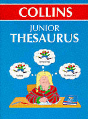 (Good)-Collins Junior Thesaurus (Paperback)--0003177114