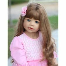 NWT RARE Masterpiece Dolls Coco Brunette Blue Eyes By Monika Levenig 39""