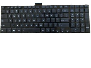 US Layout Black Color New Laptop Keyboard with Backlit Frame Replacement for Toshiba Satellite L55-A5168 L55-A5184 L55-A5226 L55-A5234 L55-A5278 L55-A5284
