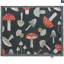 thumbnail 5 - Hug Rug Anti Viral Hygenic Bacteria Linen Light Grey Mushroom Daises Door Mat
