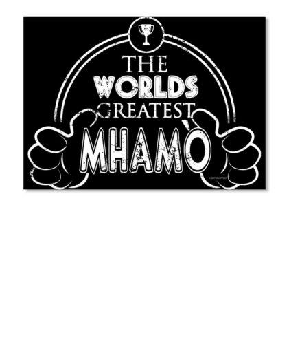 Worlds Greatest Irish Mhamo Sticker Landscape