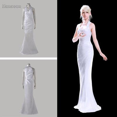 hot !Final Fantasy XV Lunafreya Nox Fleuret Luxury Wedding dress Cosplay costume