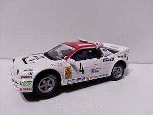 Slot-SCX-Scalextric-Altaya-Ford-RS-200-034-Rallies-Miticos-034-Rally-Costa-Brava-N-4