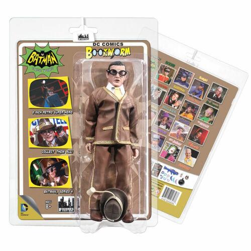 Un rat de bibliothèque Figures Toy Company Batman Classic Série 66 4 Action Figure Neuf dans sa boîte