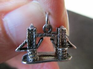 Tower Of London England UK United Kingdom 925 Sterling Silver Charm Pendant