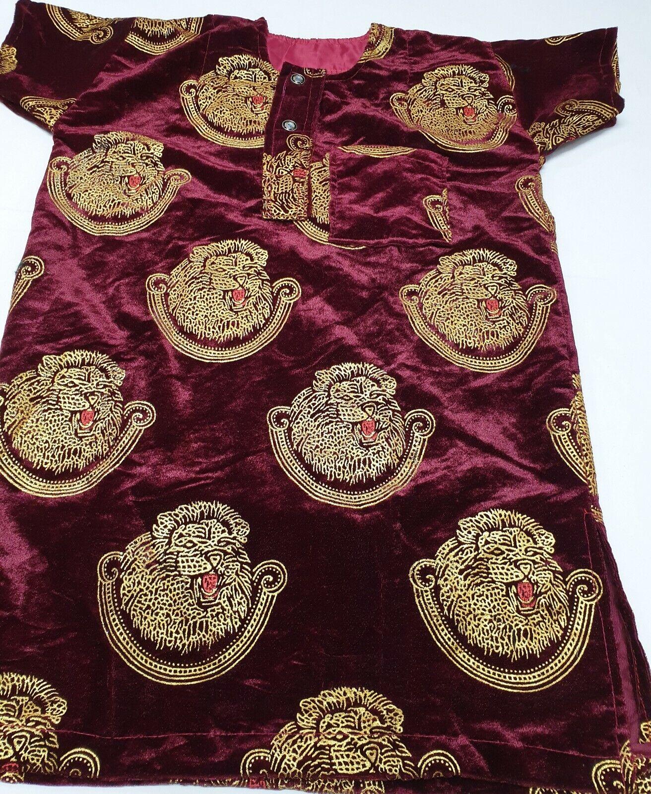 Elegant African Wedding Igbo Traditional Isiagu shirts Child
