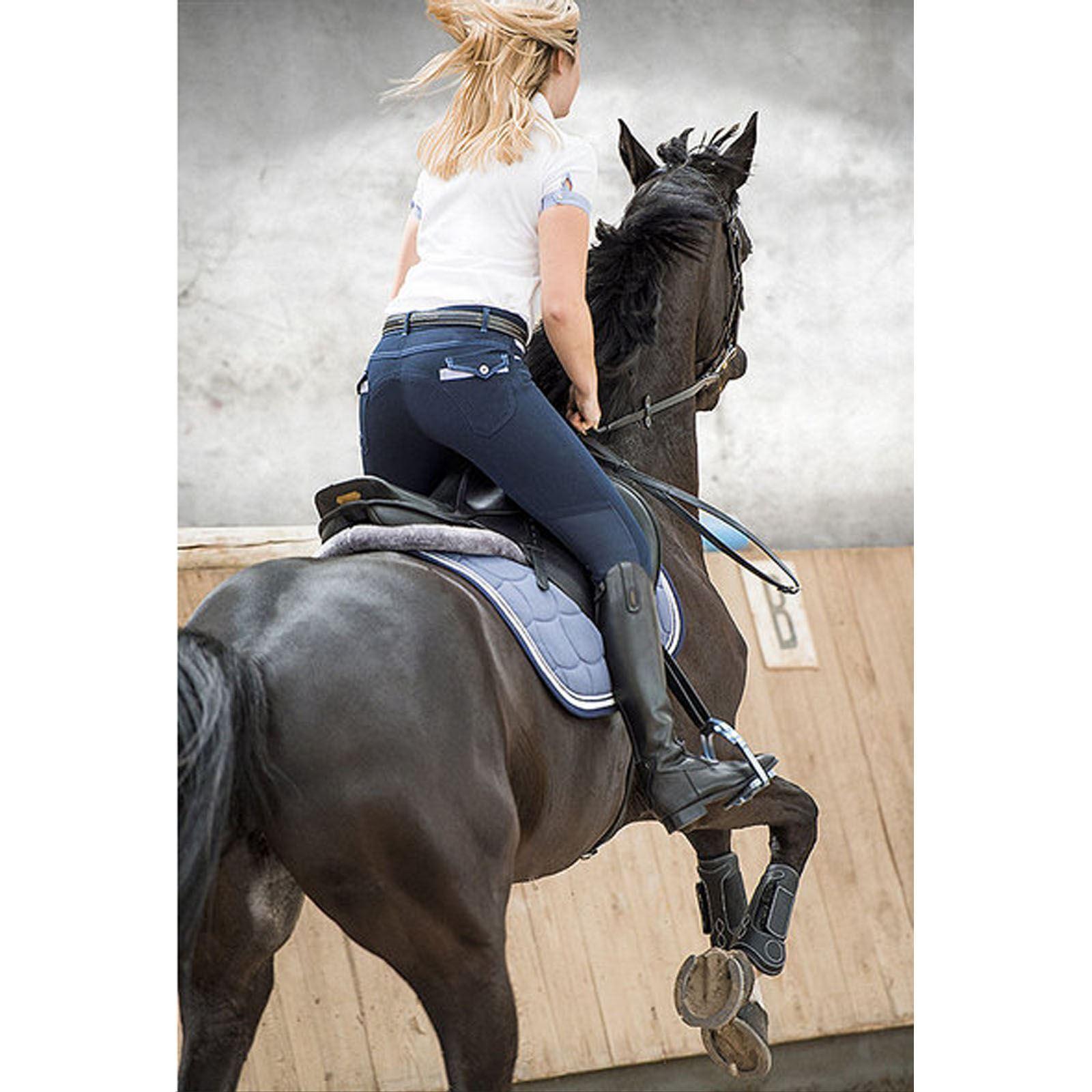 EQUI-THEME DONNA LEA traspirante morbida confortevole Stretch Pantaloni Pantaloni Pantaloni Pony e66f8f
