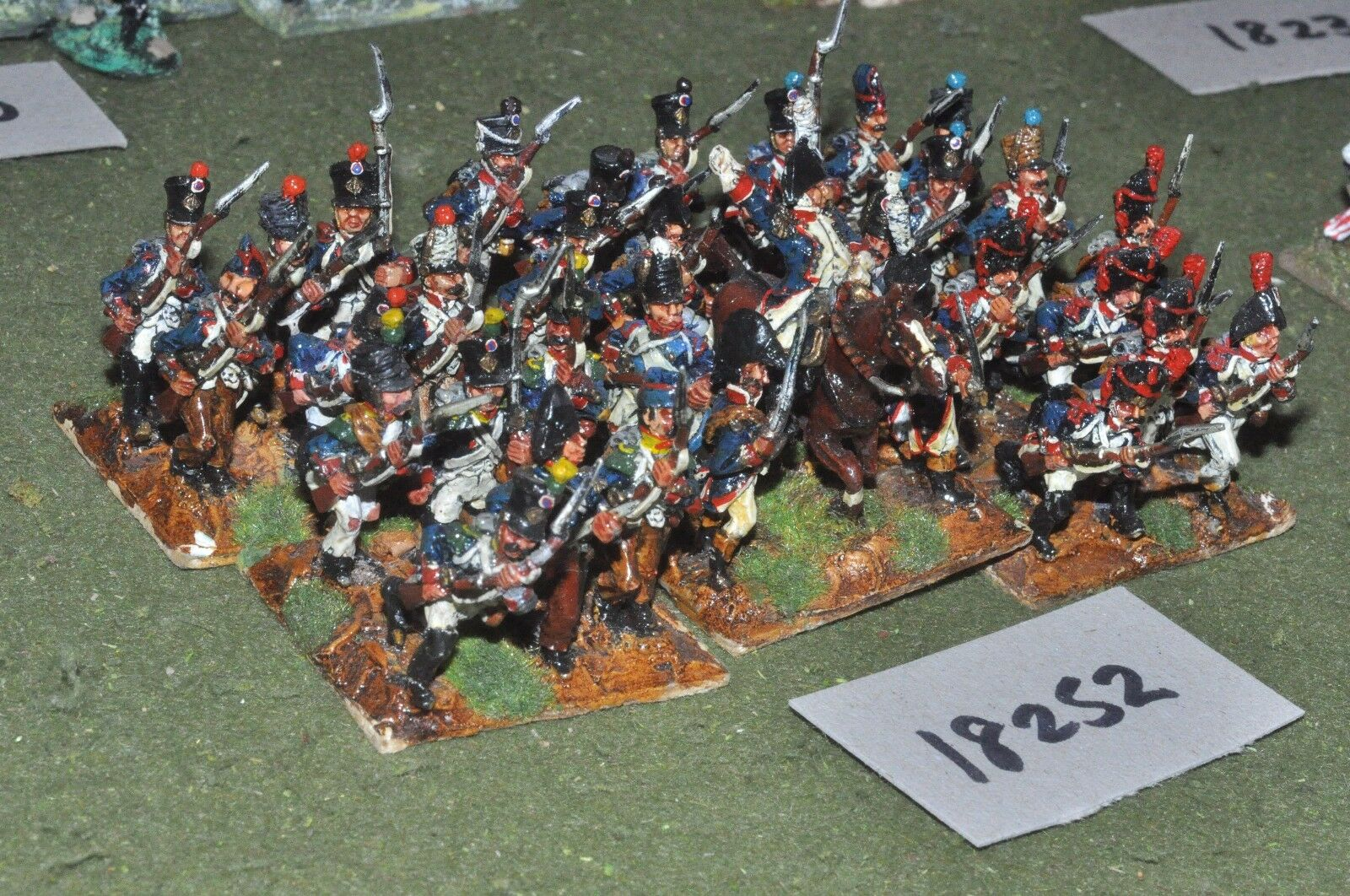 25mm napoleonic   french - infantry 36 figs - inf (18252)