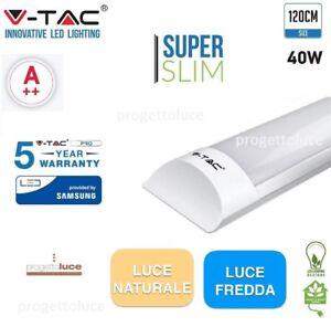 V-TAC-VT-8-40-PLAFONIERA-LED-120-cm-40W-CORPO-ALLUMINIO-SUPER-SLIM-CHIP-SAMSUNG