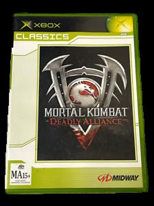 Mortal Kombat Deadly Alliance Xbox Original PAL (Clásicos) * COMPLETO **