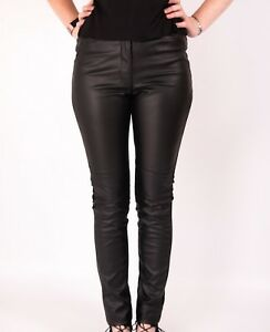 online best selection of best site Details about LEATHER LOOK LEGGINGS TROUSERS H AND M STRETCH PANTS NEW  WOMENS BLACK SKINNY PU