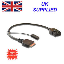 NISSAN NAVARA 284H2-ZT50A For Apple iPhone 3 4 4s ipod USB & Aux Replcemnt Cable