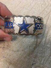 Native American Navajo Mens Bracelet Dallas Cowboys Cuff Football Wow Awesome #2