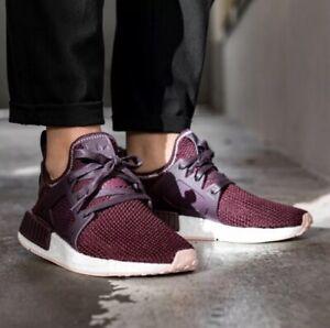 adidas nmd burgundy