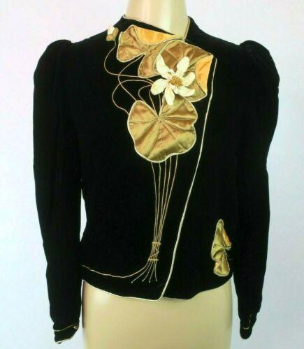 VTG 70s 80s Eugene Alexander Couture Dress Jacket