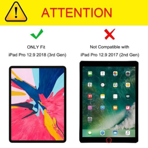 2PCS Tempered Screen Protector for Apple iPad Pro 12.9 inch 2018 Model 3rd Gen