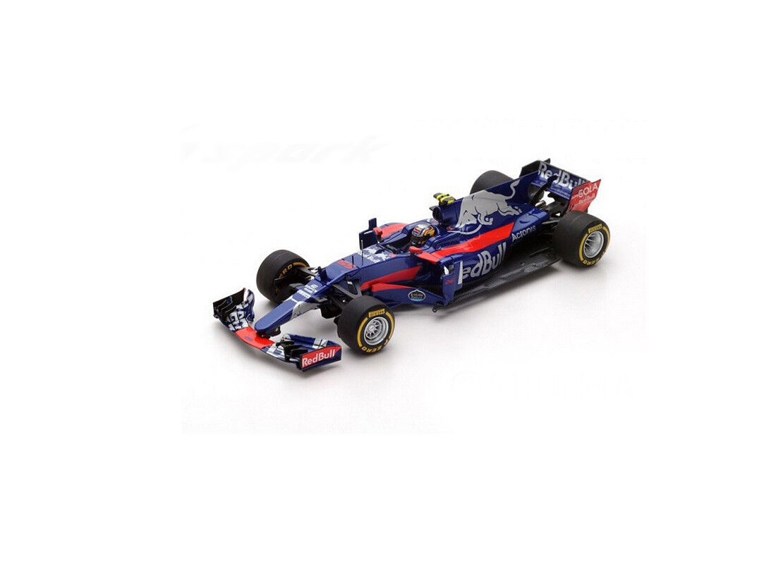 Toro Rosso STR12 (Carlos Sainz Jr-Australiano GP 2017) coche modelo de resina S5038