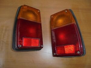 Fiat 128 Coupe' / Sl Pair Lights Rear New