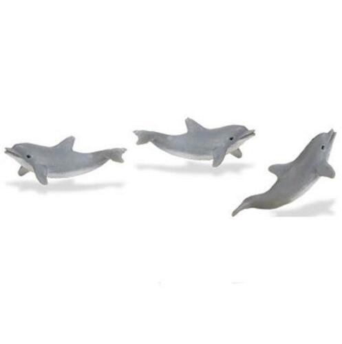 Doll House Shoppe 3 Toy Dolphin Porpoise Game Pcs SL340622 Micro-mini Miniature