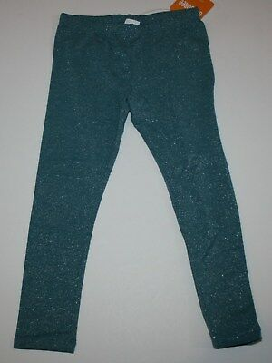 NWT Crazy 8 THE REAL TEAL Teal Green Pants Jeggings Elastic Waist