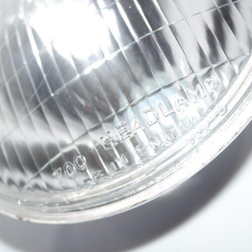 "Headlight With Parking Bulb Slot Lamp Beam 7/"" Lucas Replica BSA Norton Ariel S2u"