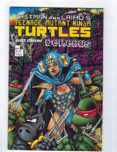 TMNT Eastman Laird Mirage Studios Teenage Mutant Ninja Turtles # 8 NM
