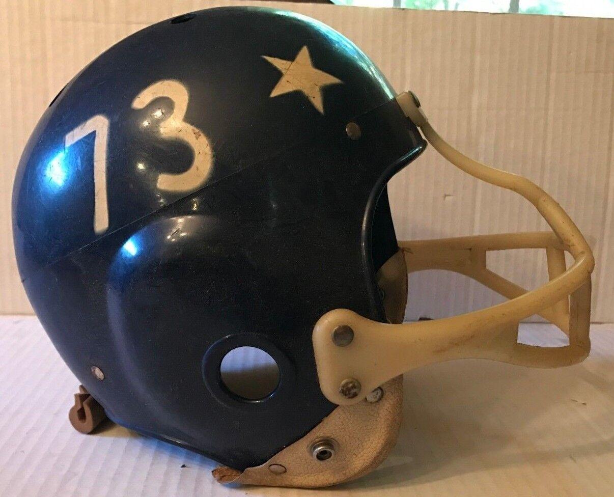 Rare 1960's Pro Sports Full Size Youth Model 2008 Football Helmet