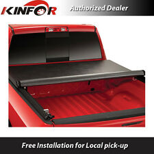 Premium Vinyl Rolling Up Tonneau Cover for 2007-2015 Toyota Tundra 6.5' Bed