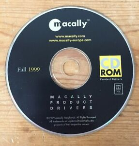 Fall-1999-Macally-Product-Drivers-For-Mac-Macintosh-Computers-CD-ROM