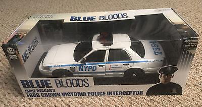 Blue Bloods Jamie Reagan Ford Crown Victoria Police Interceptor Greenlight  1:18