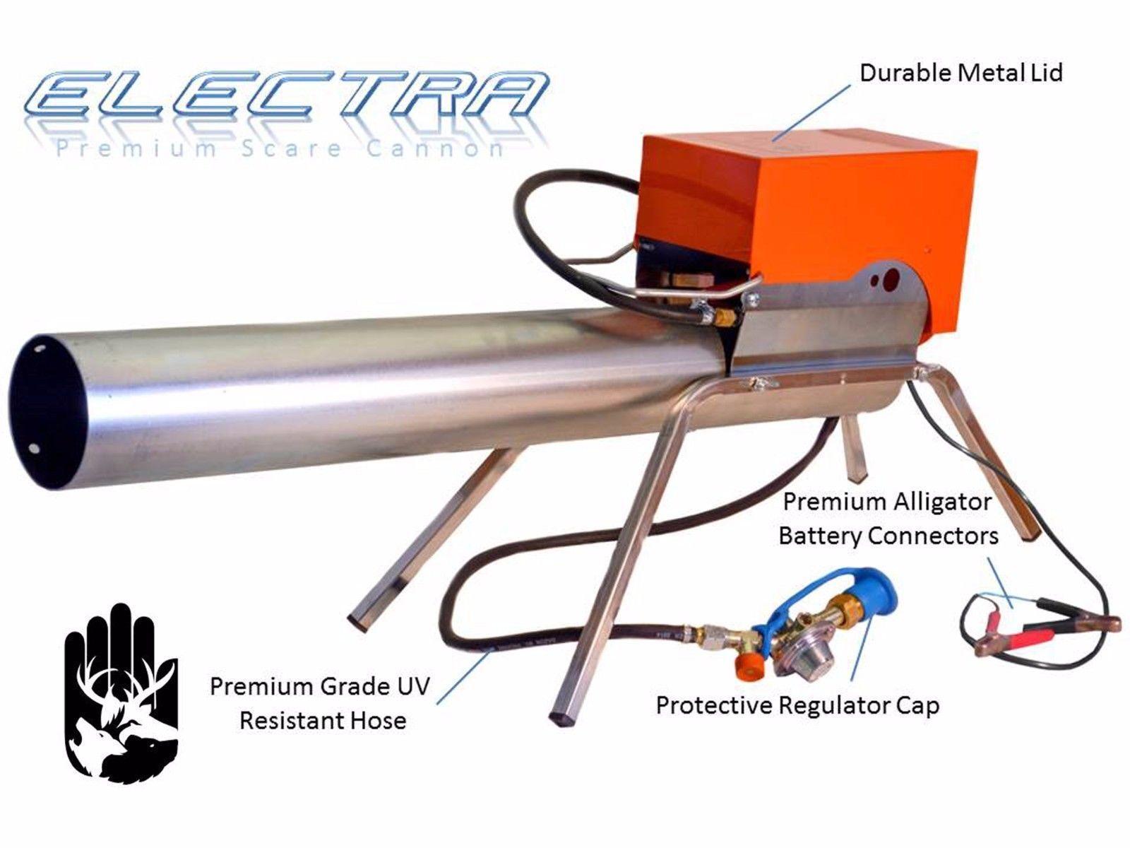 Zon Electra SCochee Cannon Bird SCochee propano cañón para la Agricultura & Airports
