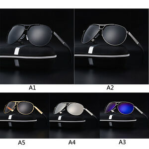 04a7a9c7a238 2018 Polarized Men s Retro Outdoor Aviator Sunglasses Driving ...